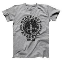 Starfleet Academy Alumni  Funny Humor San Fran Geek Gray Basic Men's T-Shirt