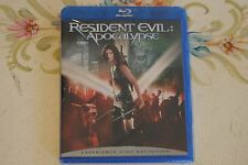 Resident Evil: Apocalypse (Blu-ray Disc) Brand New! Still in Package!