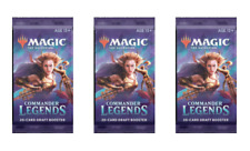 x3 MTG Commander Legends Booster Packs Factory Sealed English