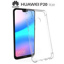 Funda Gel TPU Transparente Antigolpes para Huawei P20 Lite