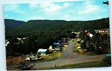 Cheticamp Trailer Park Campsite Cape Breton Cabot Trail Nova Scotia Canada B26