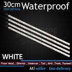 4x 110LM White 30cm 3528 18-SMD LED Strip Neon Light Car Caravan Boat Waterproof