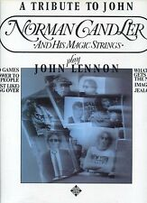 NORMAN GANDLER play john lennon GERMAN EX+ LP 1981