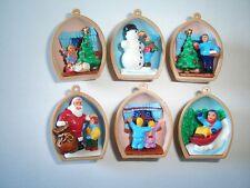 CHRISTMAS NUT SHELLS PENDANTS 97 KINDER SURPRISE FIGURES TOYS - XMAS DECORATION