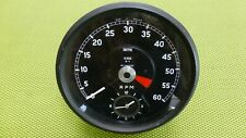 Jaguar MK II Rev Counter / Toerenteller / Speedometer with Clock