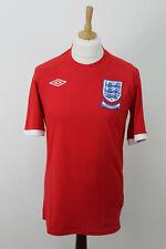 Umbro Inglaterra Fútbol Sudáfrica camisa tamaño 40