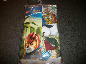 Fruit of the Loom Lego Chima  5 pack Briefs Underwear New size 4 or 6