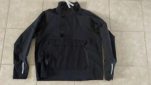 Nike Sportswear Tech Pack Woven 1/2 Zip Pull Over black CK0710 010 Size Large