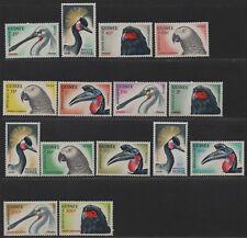 $Guinea Sc#263-274, c41-c43 M/NH/VF, complete set, set/15, birds, Cv. $27.10