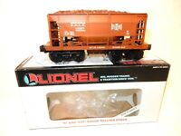 Lionel  #19307 Bessemer & Lake Erie Ore car for O gauge train op. New w orig box