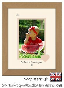 Granddaughter Photo Frame Portrait 6x4 Our Precious Granddaughter 1040F