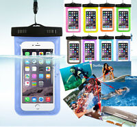 Waterproof Underwater Pouch Dry Bag Case Cover For iphone samsung TouchscreenvRF