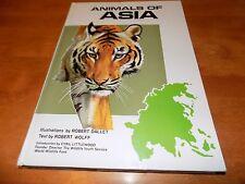 Animals Of Asia Asian Mammals Primates Predators Reptiles Deer Sheep Animal Book