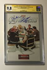 THE AVENGERS #1 CGC SS 9.8 • HEMSWORTH & TOM HIDDLESTON • GUIDEBOOK TO CINEMATIC