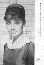 1962, Audrey Hepburn / Alain Delon Japan Vintage Clippings 4et6