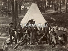 Group of Guides for the Army of the Potomac Zelt Tipi Indianer Armee Photo S 007