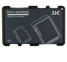 Memory Card Case Speicherkarten Schutzbox für 2 SD & 4 Micro SD Karten grau