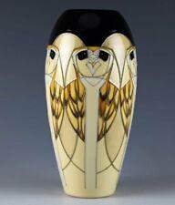 MOORCROFT THE MYTHOLOGICAL TENGU OWL VASE, SHAPE 101/7, 1st QUALITY, RRP £240.00