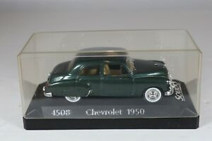 1950 Chevrolet Green Sedan Age D'or Solido 1:43 DieCast 0586 No. 4508