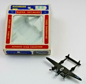 Vintage Bachmann Mini Planes #12 P-38 Lightning - 8312:79