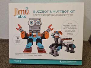 UBTECH Jimu Robot BuzzBot & MuttBot Robotics Kit (BUZZBOT)