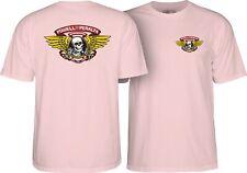 Powell Peralta Winged Ripper Skateboard T Shirt Light Pink Xxl