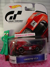 Gran Turismo #2/5 CORVETTE C7.R ☆Red Chevy;Real Riders☆2016 Hot Wheels Retro