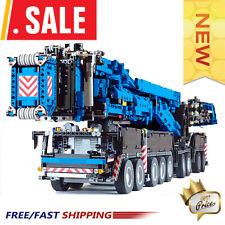 Liebherr LTM11200 Crane Final 15 RC Mobile Power Crane Construction Technic Toys