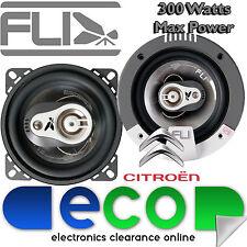 Citroen C1 2005-2014 FLI 10cm 4 Inch 300 Watts 3 Way Front Dash Car Speakers
