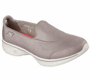Mismatched Skechers Womens Go Walk 4  INSPIRE goga mat Slip On Shoes 14166