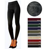 Women's Plus Size Leggings Winter Warm Brushed Fleece 1X 2X 3X Thick Soft Cozy