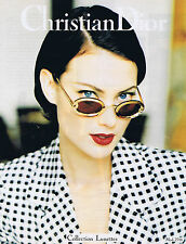 PUBLICITE ADVERTISING 084 1995 DIOR collection Lunettes