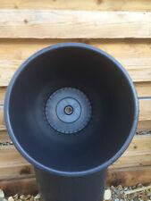 10 X 15 Litre Used Plain Black Plant Pots