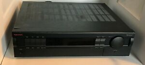 NAKAMICHI RECEIVER 1 TWO CHANNEL STEREO RECEIVER 80 WATTS  w/ Remote Manual