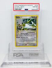 Pokemon EX DEOXYS GOLD STAR LATIAS #105 HOLO FOIL CARD PSA 10 GEM MINT #28848399