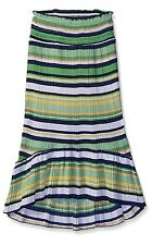 NEW My Michelle Big Girls' Broomstick Pleat Maxi Skirt with Elastic Waistband M