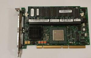 Dell SCSI PCI-X Raid Controller Card 128bm 0D9205/ 0J4717/ 0KJ926  GRA 31