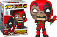 Deadpool Zombies Marvel Funko Pop Vinyl New in Box