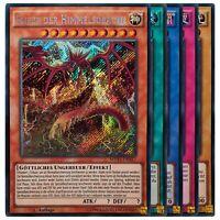 Yugioh Karten Sammlung - 10 Secret Rare Karten - Yu-Gi-Oh Deck Set Lot Holo Neu