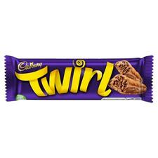 Cadbury Twirl Chocolate Bars 43g x 48