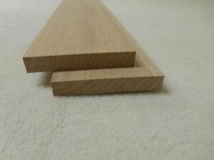 (12.11)  1Stk 100cm Rechteckleisten Buche 10x60mm Vierkant Holzleisten