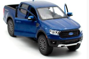 1:27 MAISTO 2019 FORD Ranger Blue DIECAST MODEL CAR NEW IN BOX