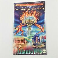 The Official Sports Guide of the Centennial Olympic Games Atlanta 1996