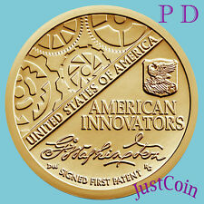 2018 P&D SET AMERICAN INNOVATION INTRODUCTORY UNCIRCULATED TWO DOLLARS PRESALE