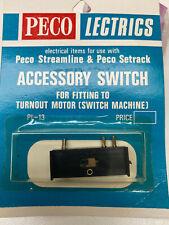 Peco PL 13 Accessory switch. Look!