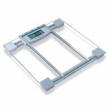 150KG Clear Electronic Digital LCD BMI Calorie & Body Fat Bathroom Weight Scale