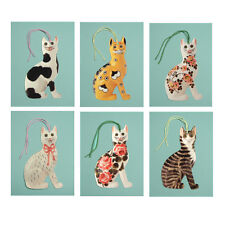 150  Wemyss Ware Cats Die-cut Gift Tags ET0001