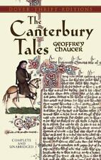 The Canterbury Tales (Dover Thrift Editions) by Geoffrey Chaucer