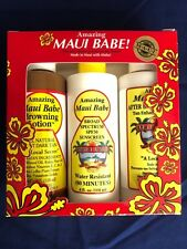 AMAZING MAUI BABE 4 OZ THREE PACK GIFT SET