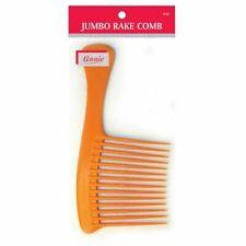 Annie Jumbo Hair Combs Rake Comb Black/bone/red 1.5 Count